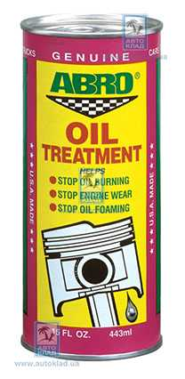 Присадка в масло 443мл ABRO AB500: заказать