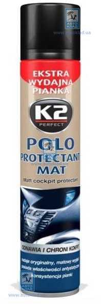 Полироль для пластика POLO PROTECTANT 300мл K2 K413: стоимость