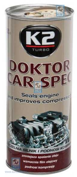 Присадка в масло Стабилизатор вязкости Doktor Car Spec 443мл K2 T350: заказать