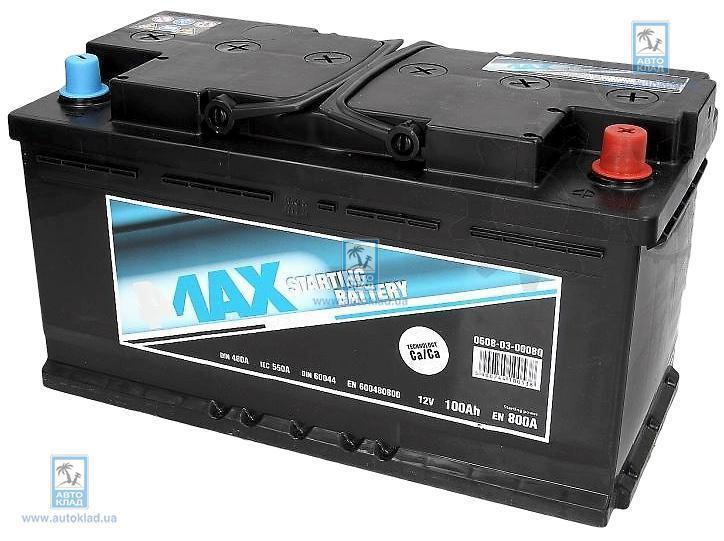 Аккумулятор 100Ач 800A Q-Line 4MAX 0608030008Q