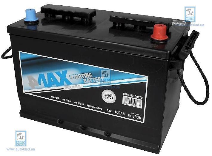 Аккумулятор 77Ач 760A Q-Line 4MAX 0608030014Q