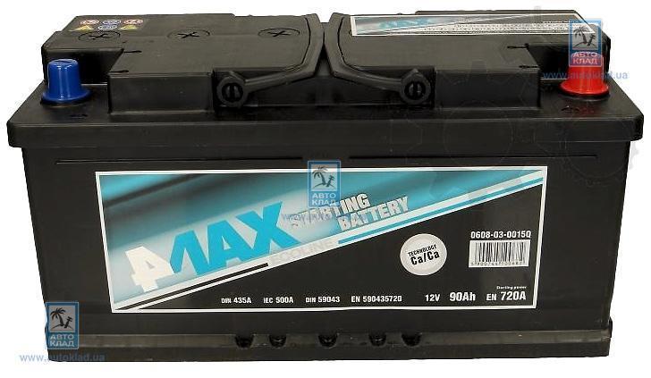 Аккумулятор 90Ач 720A Q-Line 4MAX 0608030015Q