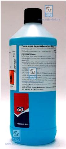 Жидкость омывателя зимняя концентрат -80°C 1л AD SCREENWASH801L: стоимость