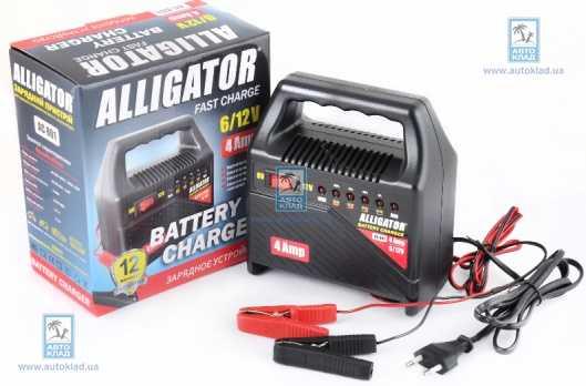 Зарядное устройство 6А 6-12В ALLIGATOR AC802