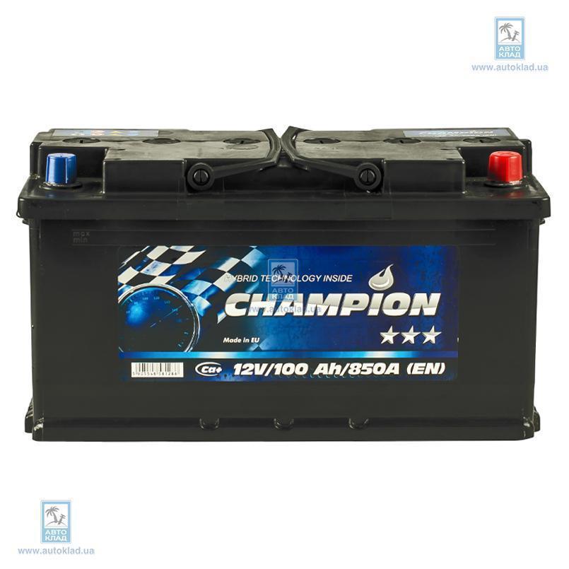 Аккумулятор 100Ач Black Euro AP CHAMPION CHB1000