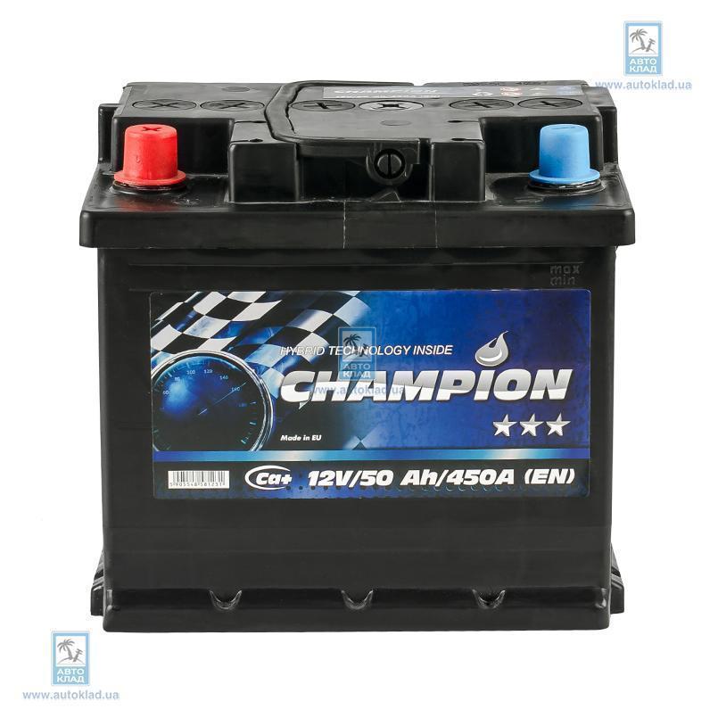 Аккумулятор 50Ач Black AP CHAMPION CHB501