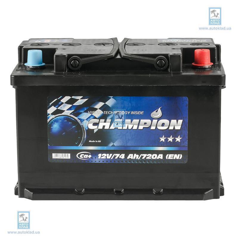 Аккумулятор 74Ач Black Euro AP CHAMPION CHB740