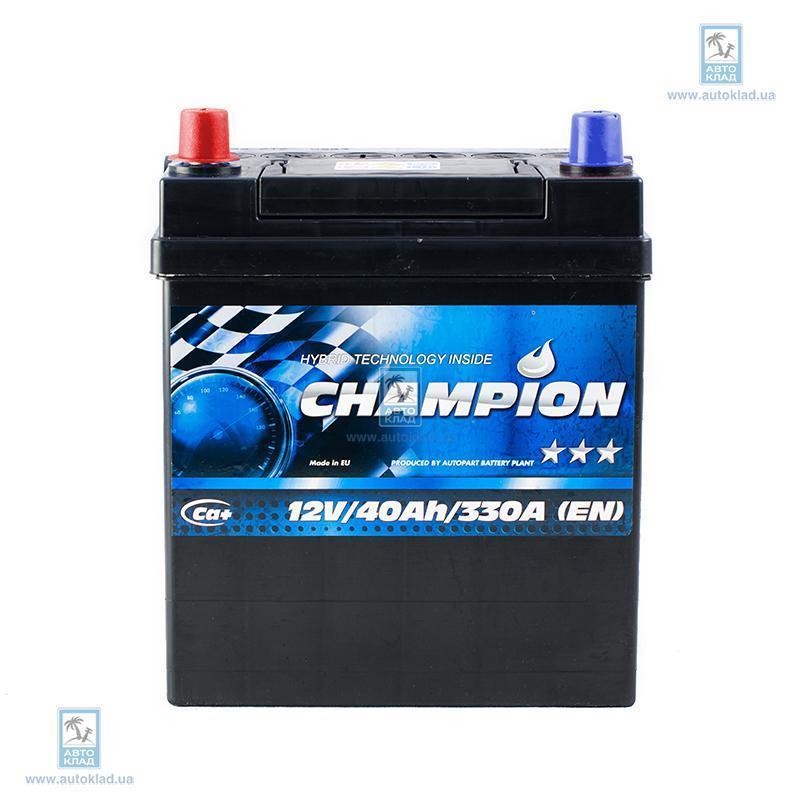 Аккумулятор 40Ач Black Japan AP CHAMPION CHBJ401