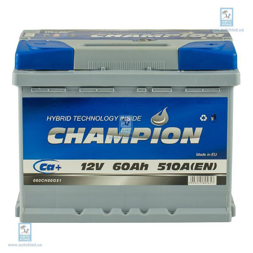 Аккумулятор 60Ач Euro AP CHAMPION CHG600