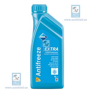 Антифриз G11 Extra сине-зеленый 1л ARAL 90829