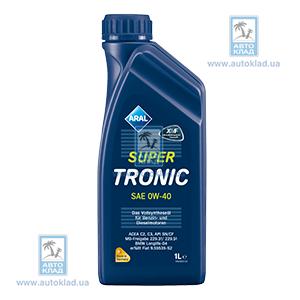 Масло моторное 0W-40 SuperTronic 1л ARAL ARAL0W40L1: цена