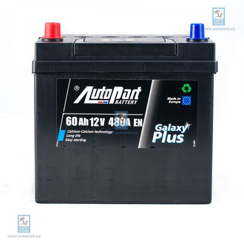 Аккумулятор 60Ач Japan Plus (1) AUTOPART ARL060078