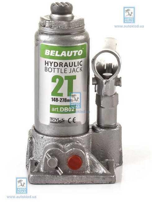 Домкрат гидравлический 2т BELAUTO DB02