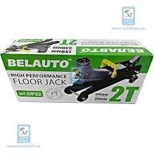Домкрат гидравлический подкатной 2т BELAUTO DP22