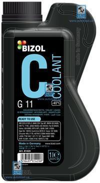Антифриз G11 синий 1л BIZOL B81420