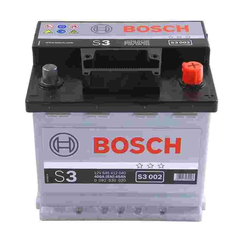 Аккумулятор S3 45Ач 400A BOSCH 0 092 S30 020