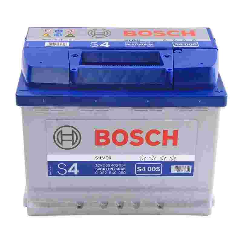 Аккумулятор S4 60Ач 540А BOSCH 0 092 S40 050