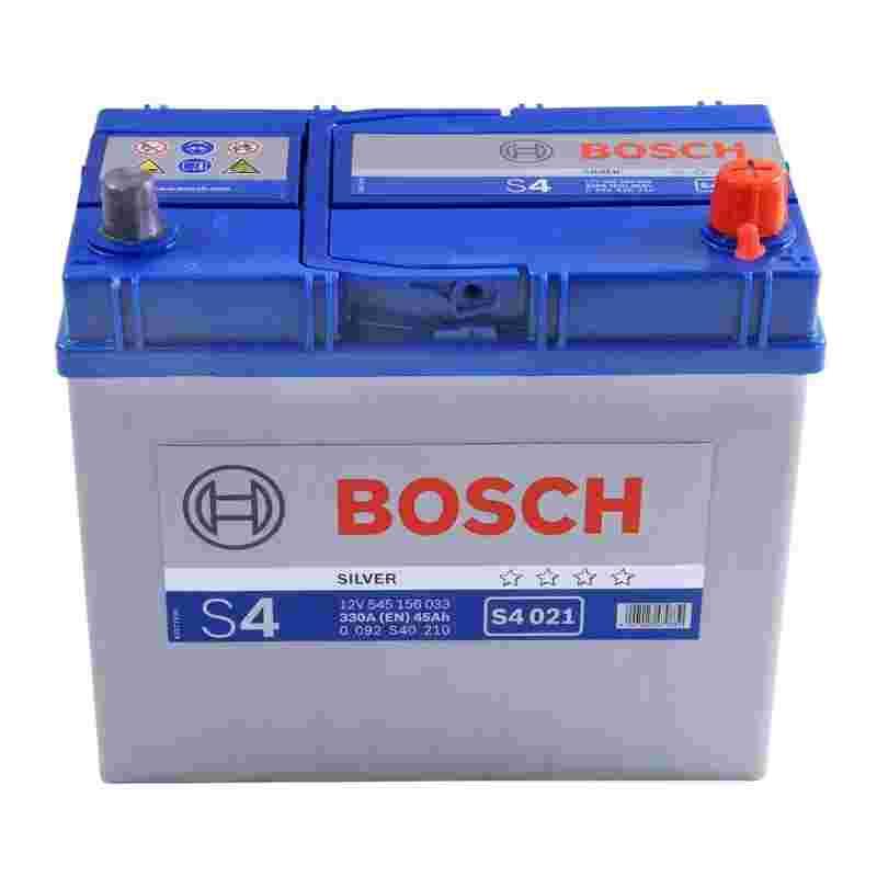 Аккумулятор S4 45Ач 330А BOSCH 0 092 S40 210