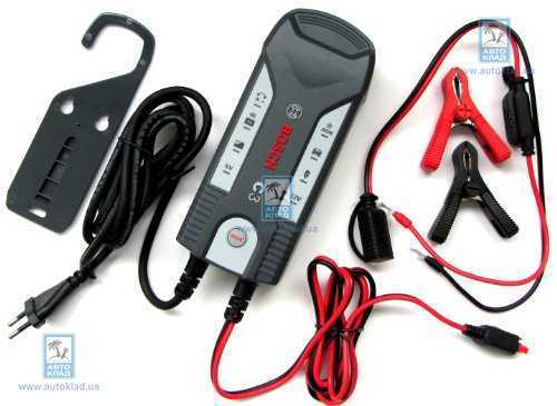 Зарядний пристрій для АКБ C3 BOSCH 0189999030