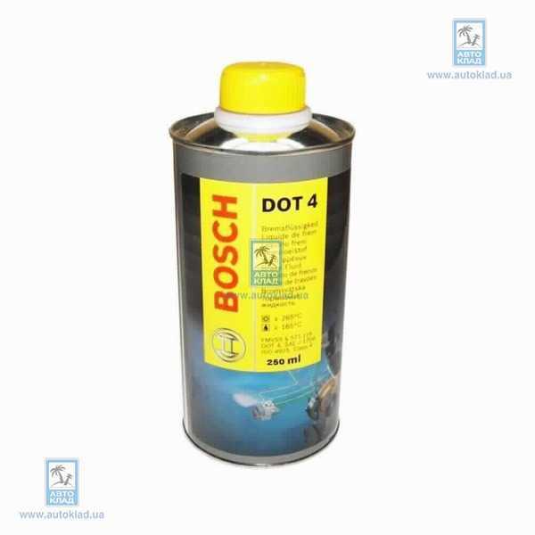 Тормозная жидкость DOT4 250мл BOSCH 1 987 479 001