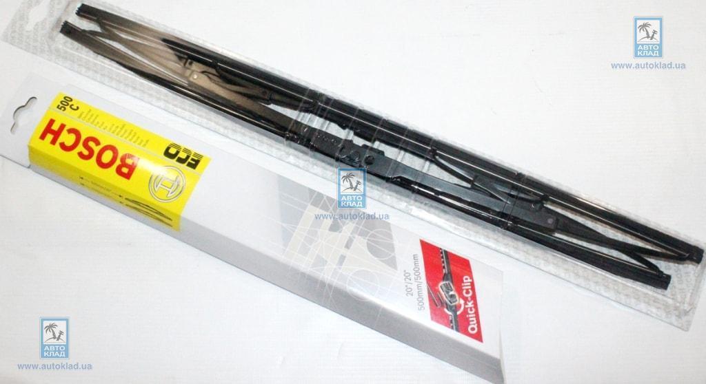 Щетки стеклоочистителя комплект Eco V3 500C 500/500мм BOSCH 3 397 005 161