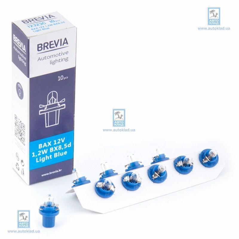 Автолампа BAX BX8.5d light Blue BREVIA 12323C