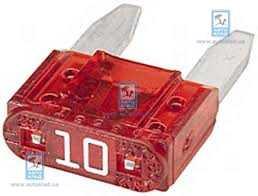 Предохранитель 10А мини CARGO 191470: продажа
