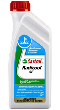 Антифриз G12 красный Radicool SF 1л CASTROL 172820264