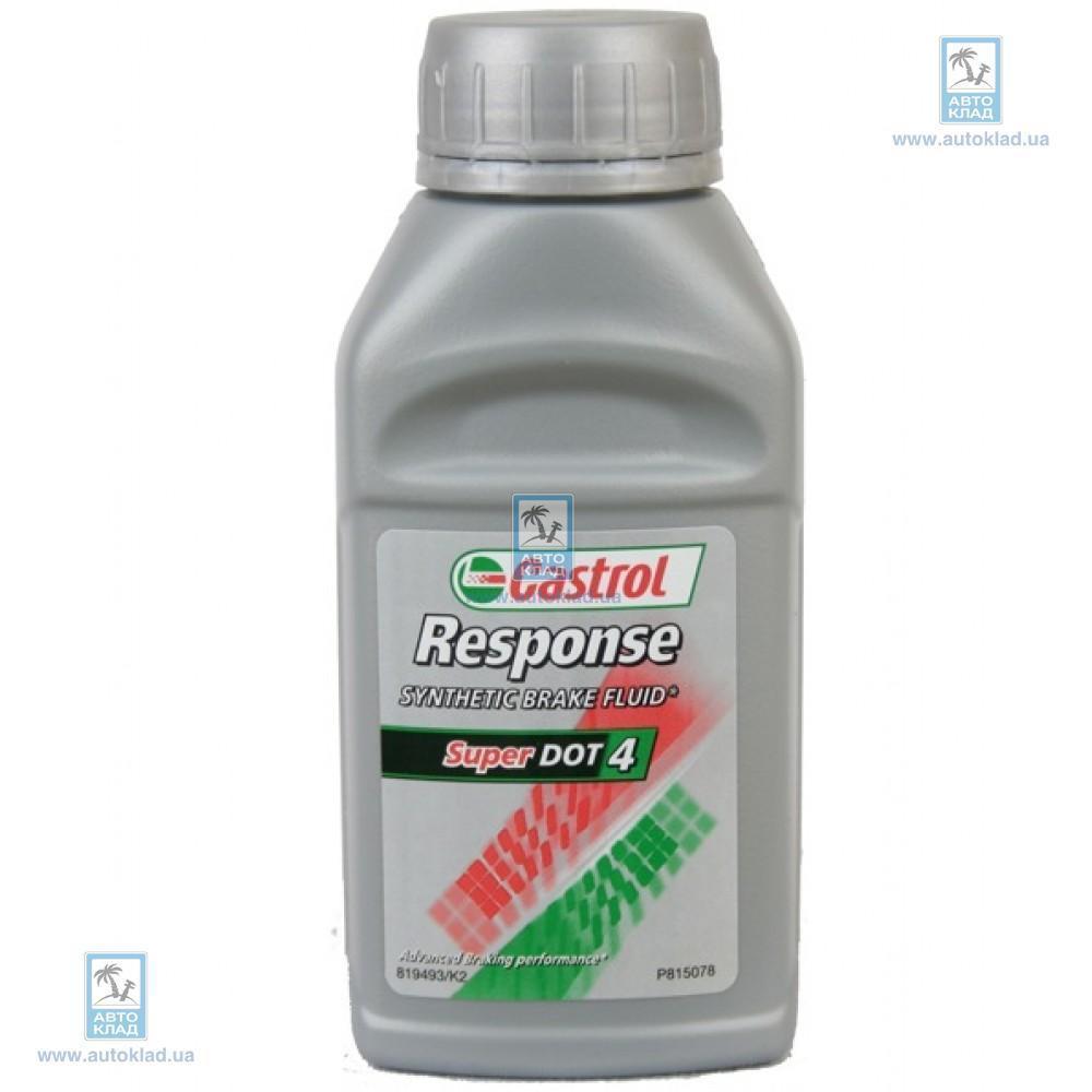 Тормозная жидкость DOT4 250мл CASTROL 176000058: цена