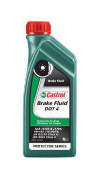 Тормозная жидкость DOT4 1л CASTROL 176010060