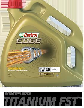 Масло моторное 0W-40 EDGE Titanium A3/B4 4л CASTROL CASEDGE0W40A3B4TITL4