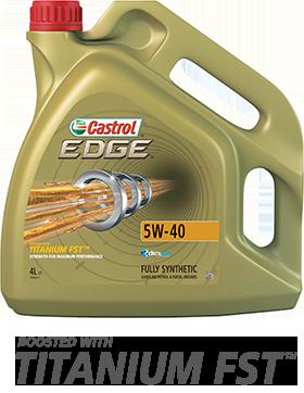Масло моторное 5W-40 EDGE Titanium 4л CASTROL CASEDGE5W40TITL4