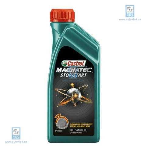 Масло моторное 5W-30 MAGNATEC STOP-START A3/B4 1л CASTROL URMSS53AB12X1