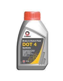 Тормозная жидкость DOT4 Synt 500мл COMMA DOT4SYNT500ML