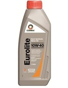 Масло моторное 10W-40 Euro Lite 1л COMMA EUROLITE10W401L