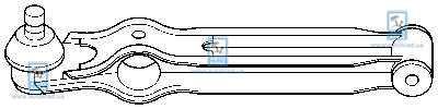 Рычаг подвески CTR CQS-6