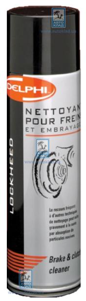 Очиститель тормозной системы 500мл DELPHI NET1000