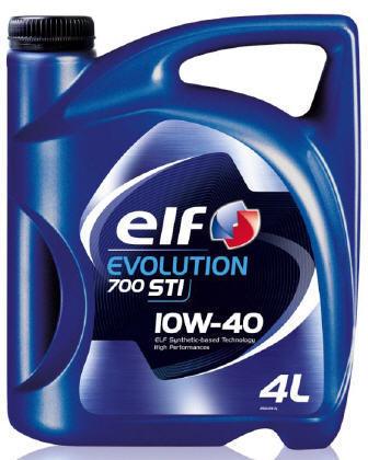 Масло моторное 10W-40 Evolution 700 STI 4л ELF ELF0065