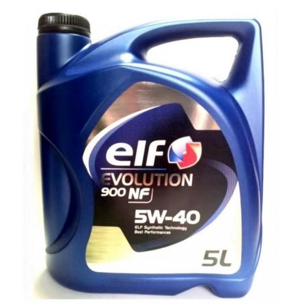 Масло моторное 5W-40 Evolution 900 NF 5л ELF ELF0071