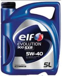 Масло моторное 5W-40 Evolution 900 SXR 5л ELF ELF0083: описание