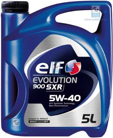 Масло моторное 5W-40 Evolution 900 SXR 5л ELF ELF0083