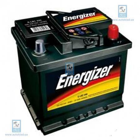 Аккумулятор 52Ач 470A PLUS ENERGIZER 552400047