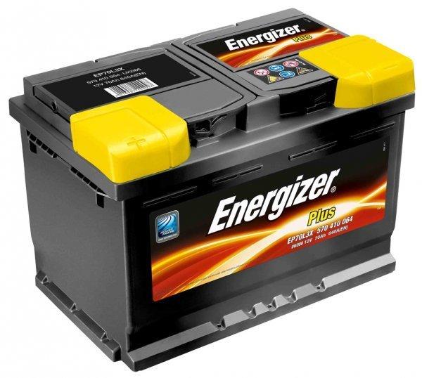 Аккумулятор 60Ач 510А PLUS ENERGIZER 560412051