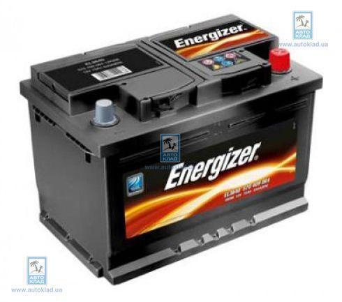Аккумулятор 68Ач 570A ENERGIZER 568403057