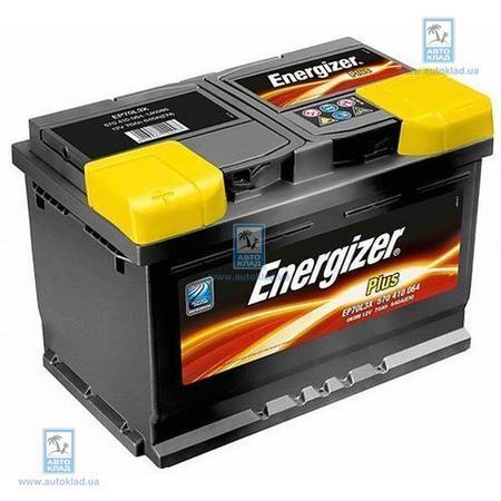 Аккумулятор 70Ач 640A PLUS ENERGIZER 570144064