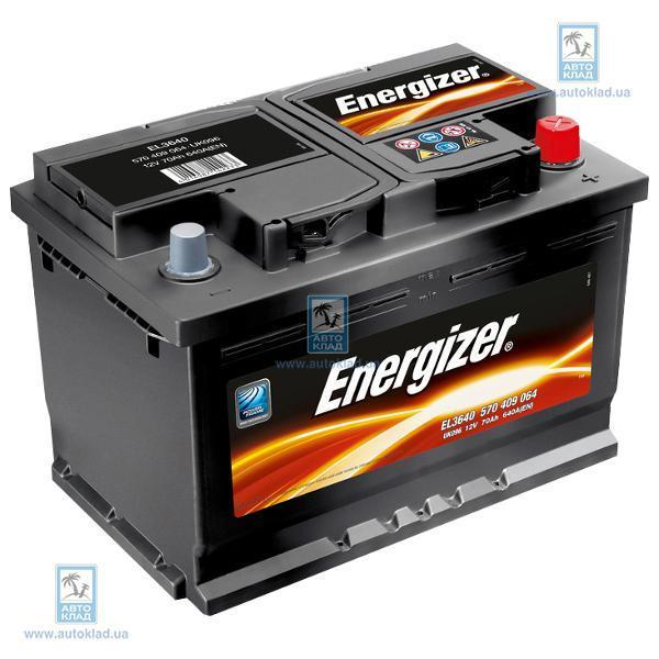 Аккумулятор 70Ач 640A ENERGIZER 570409064