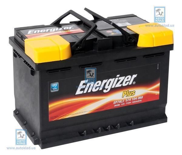 Аккумулятор 74Ач 680A PLUS ENERGIZER 574104068