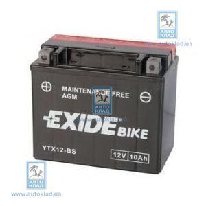 Аккумулятор гелевый 10Ач 150А EXIDE ETX12BS