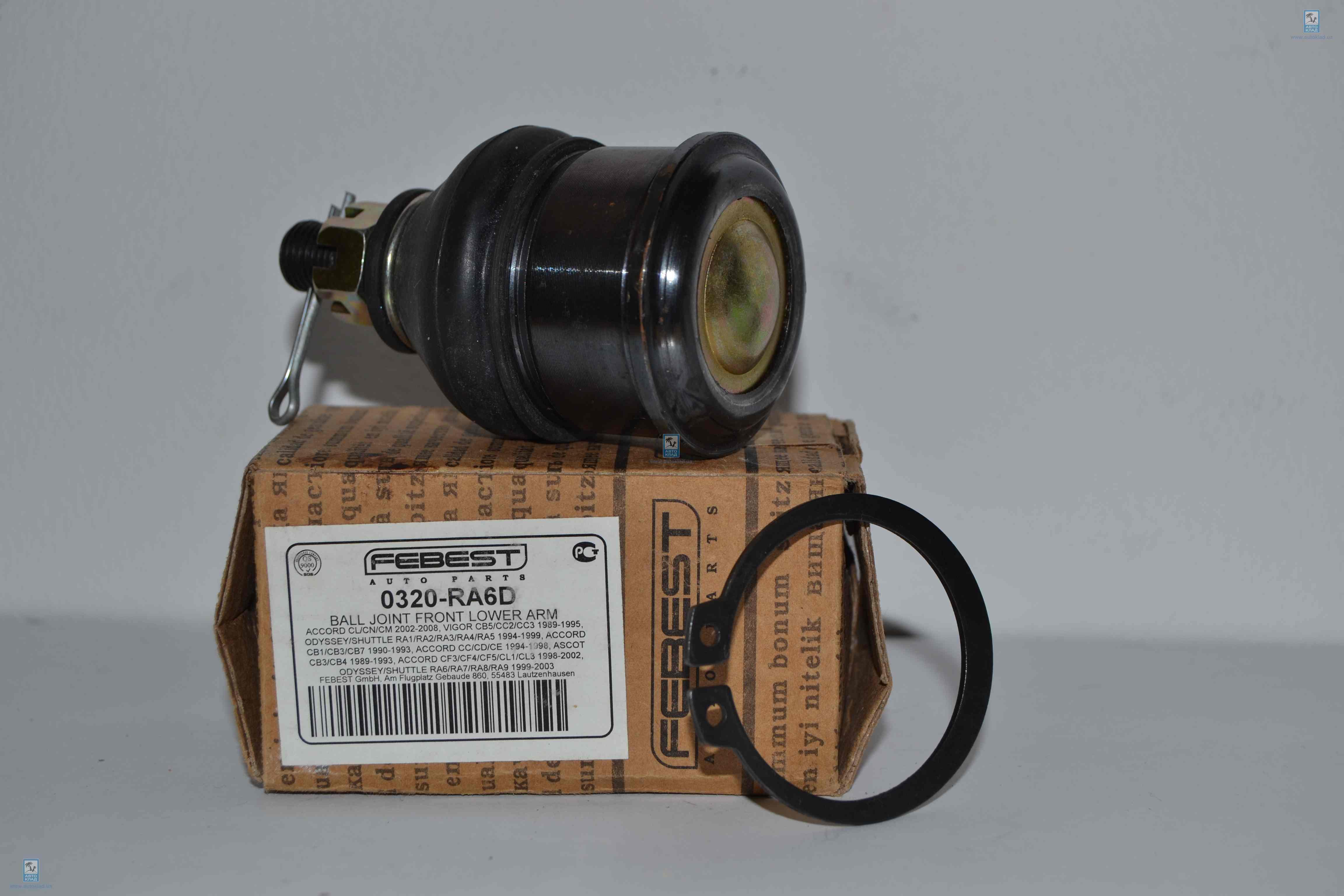 Опора шаровая рычага переднего FEBEST 0320-RA6D