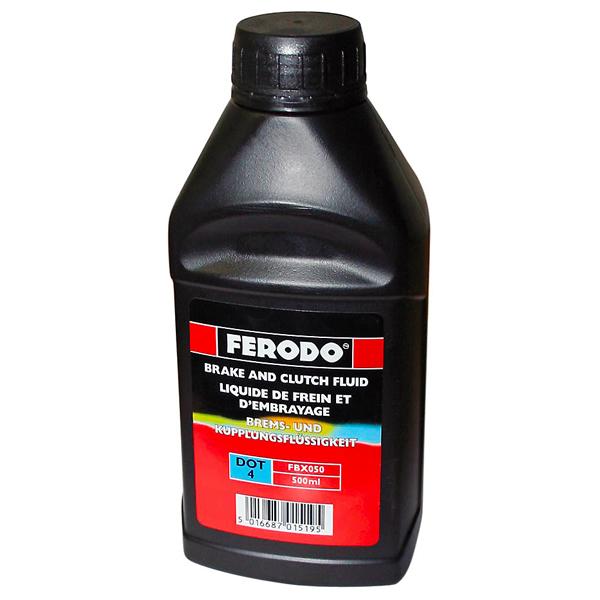 Тормозная жидкость DOT4 500мл FERODO FBX050